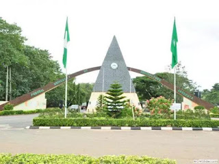 Front of a Nigerian university