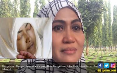 Kocak, Wanita Ini Ngaku Mampu Hidupkan Kembali Julia Perez Dari Kubur, Dia Juga Bisa Hilir Mudik Di Alam Roh Ketemu Olga