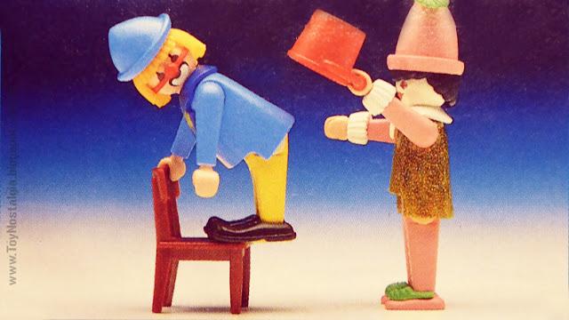 Playmobil 3392 Payasos Músicos Clown Act Musik Clowns Circus
