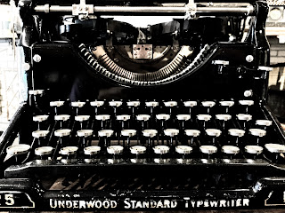 1920s Underwood 5 typewriter
