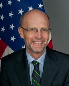 PNG Opposition farewell US Ambassador Walter North