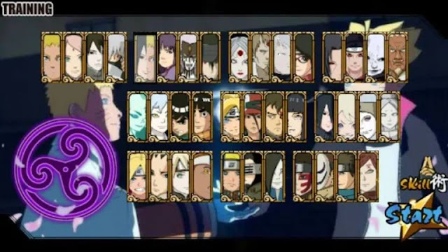 Download Naruto Senki Mod Boruto Ninja Full Character Apk Game Terbaru