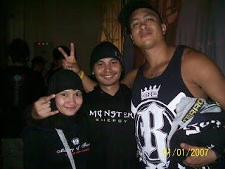 Epi Friezta Dewi Hasibuan & Cecen Core & Martin Stewart, gitaris Terror