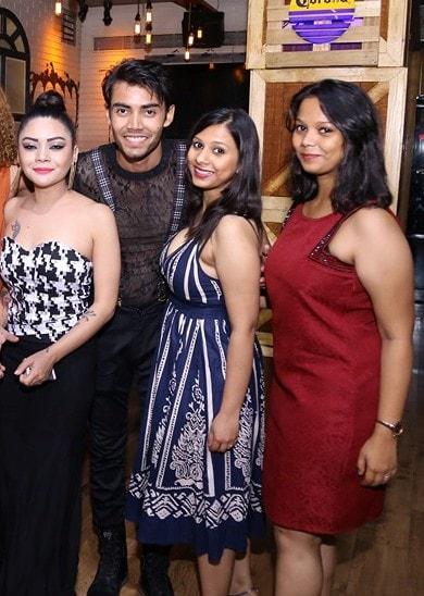 Bdy Boy Aman with Satvika, Subi & Alisha