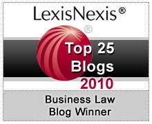 2010年lexisnexis前25名商业法博客