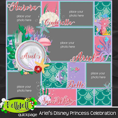 Ariel's Disney Princess Celebration Quickpage