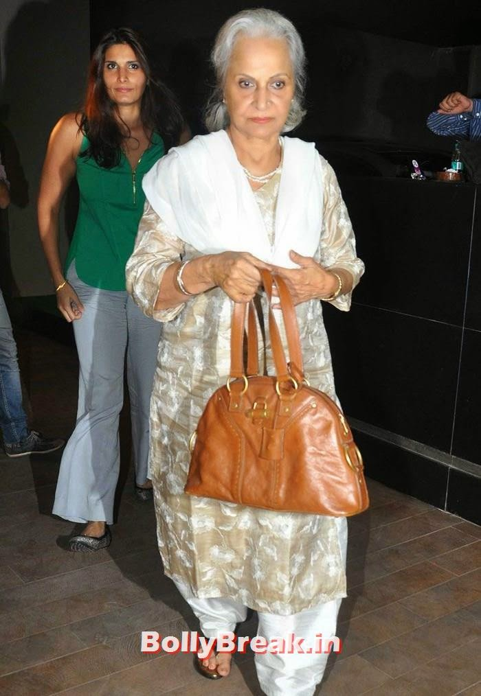 Waheeda Rehman, 'Humshakals' Movie Special Screening Pics