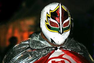 mascara de luchador