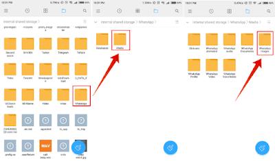 cara menyembunyikan gambar dan video WhatsApp di Android Cara menyembunyikan gambar dan video WhatsApp di Android