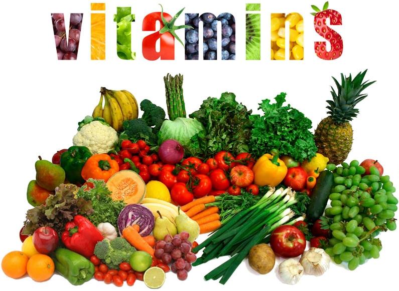Macam - Macam Vitamin, Sumber Vitamin dan Fungsi Vitamin