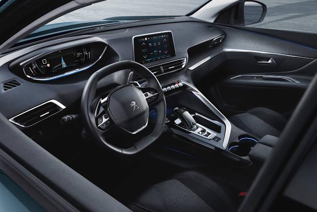2017 Peugeot 5008 - interior