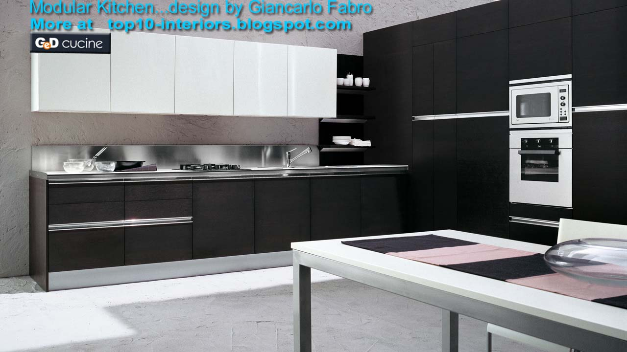 Top 10 Interiors Top10 Modular Kitchen Part6 10photos