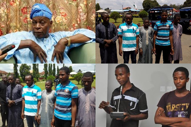The 7 kidnappers of former Secretary to the Government of the Federation, SGF, Chief Olu Falae, bag life imprisonment in Ondo State