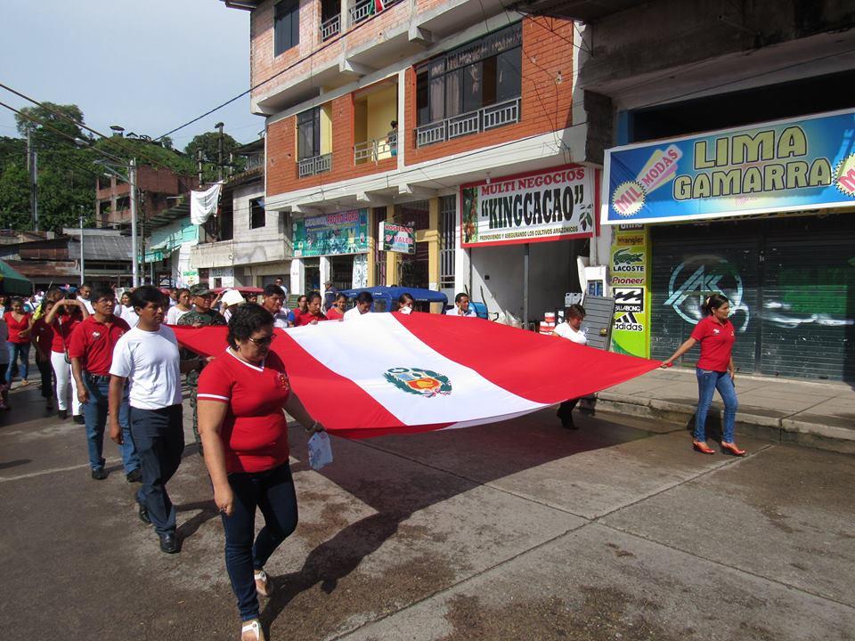 día de la bandera y recordaron los 136 años de la batalla de Arica