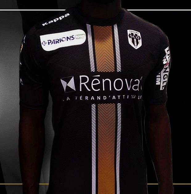 Kappa lança novo terceiro uniforme do Angers SCO - Show de Camisas d0bd8abd42ab5