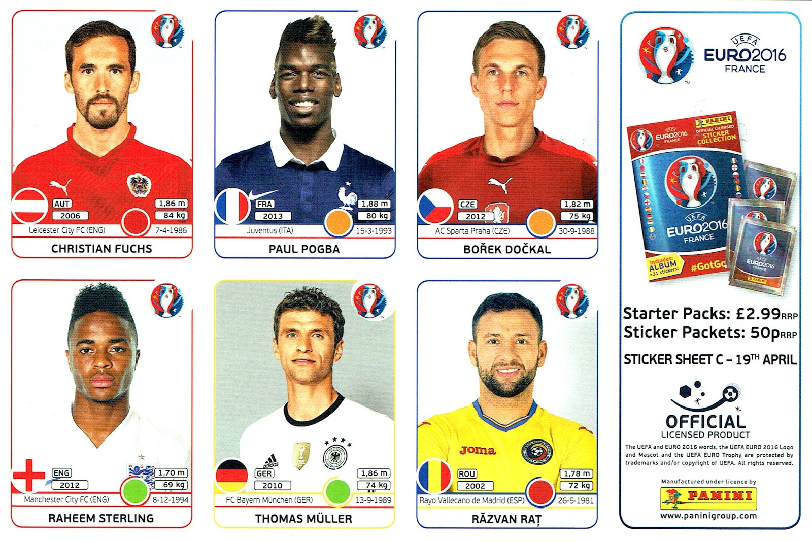 Euro 2016 Panini stickers offer older collectors the nostalgia of ...