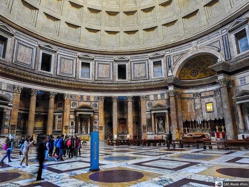 Panteão - O que fazer em Roma, Itália