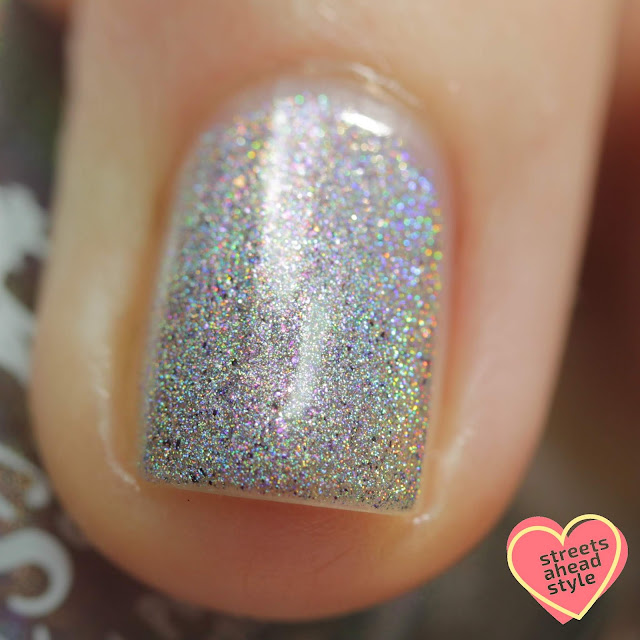 Girly Bits Holo From the Other Side swatch by Streets Ahead Style