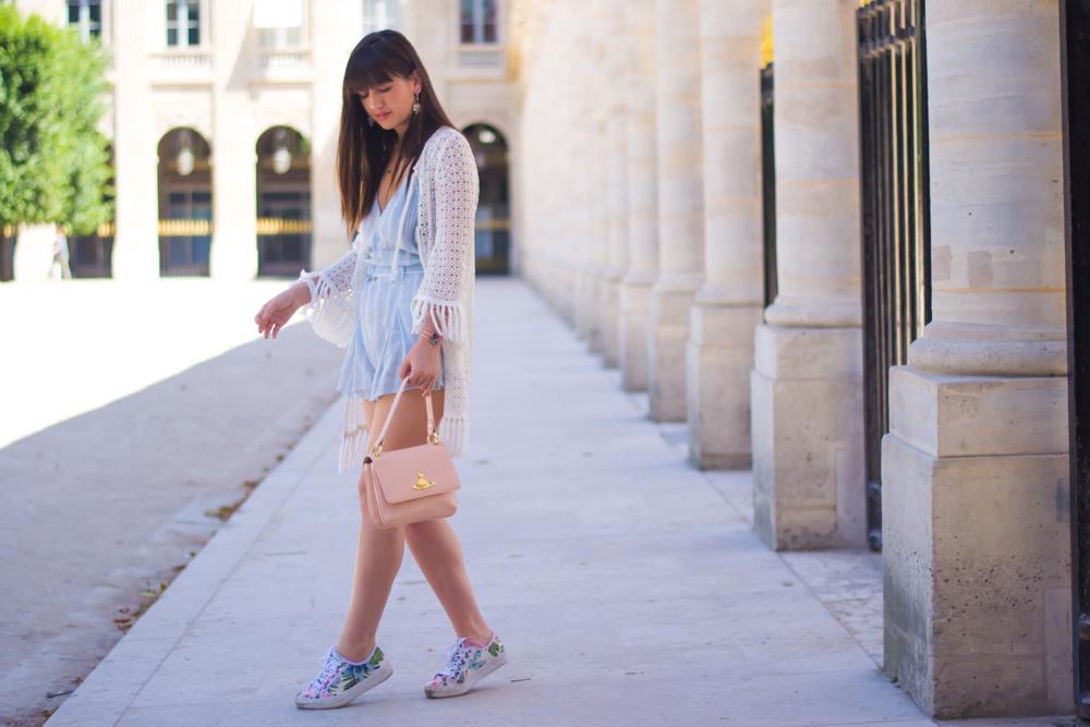 博客模式巴黎,Streetstyle,麦加利·帕斯卡(Magali Pascal),在聚会中认识我,当下风采
