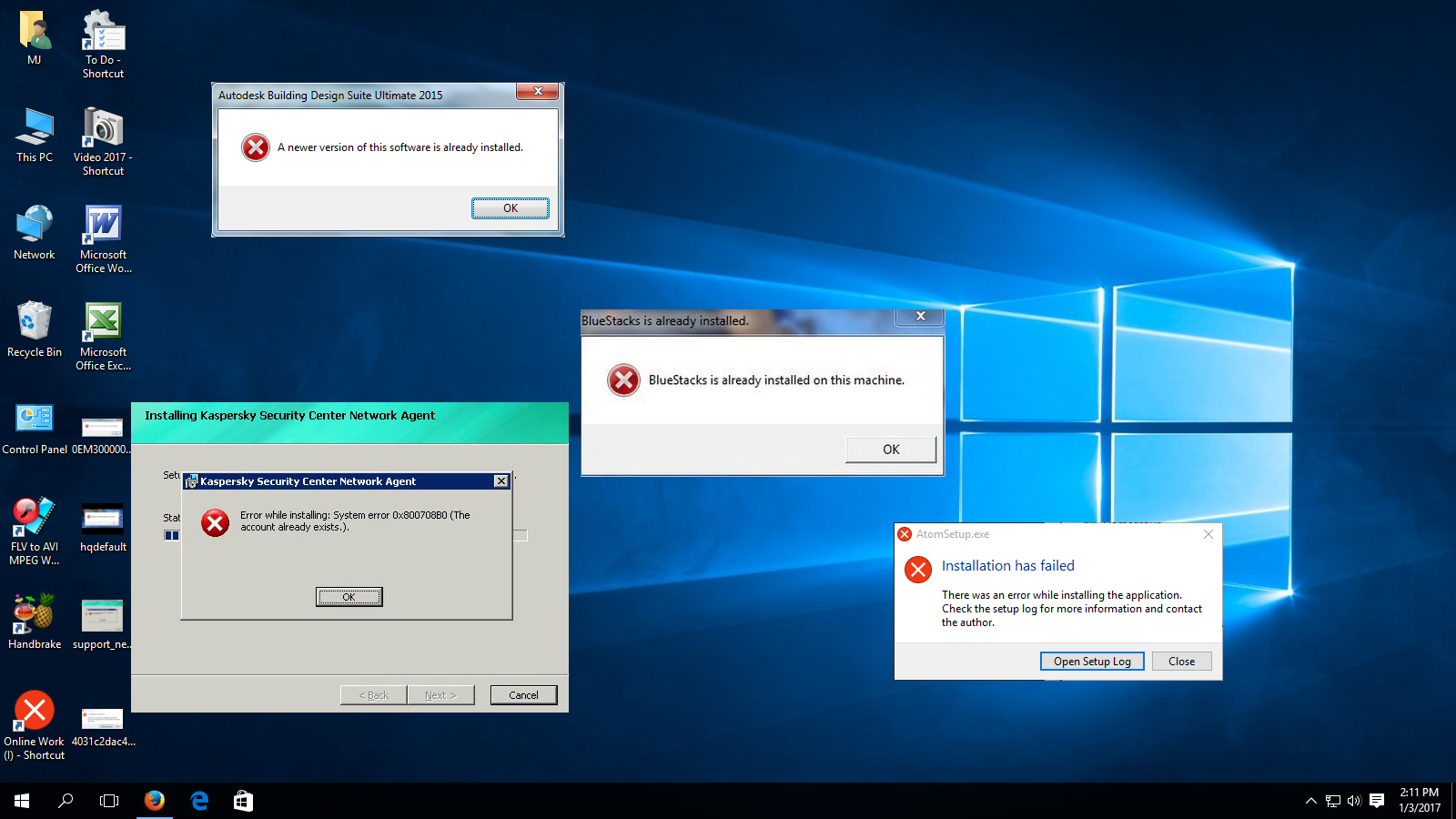 Learn New Things How To Fix Software Installation Error