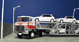 Tomica Limited Vintage  Honda Civic Type-R lv-n90a trailer tractor head