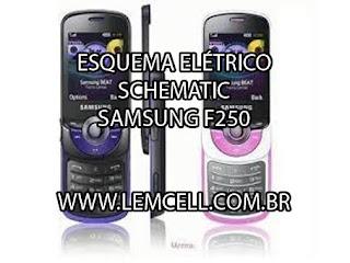 Esquema Elétrico Celular Smartphone Celular Samsung M2510  Service Manual schematic Diagram Cell Phone Smartphone Celular Samsung M2510