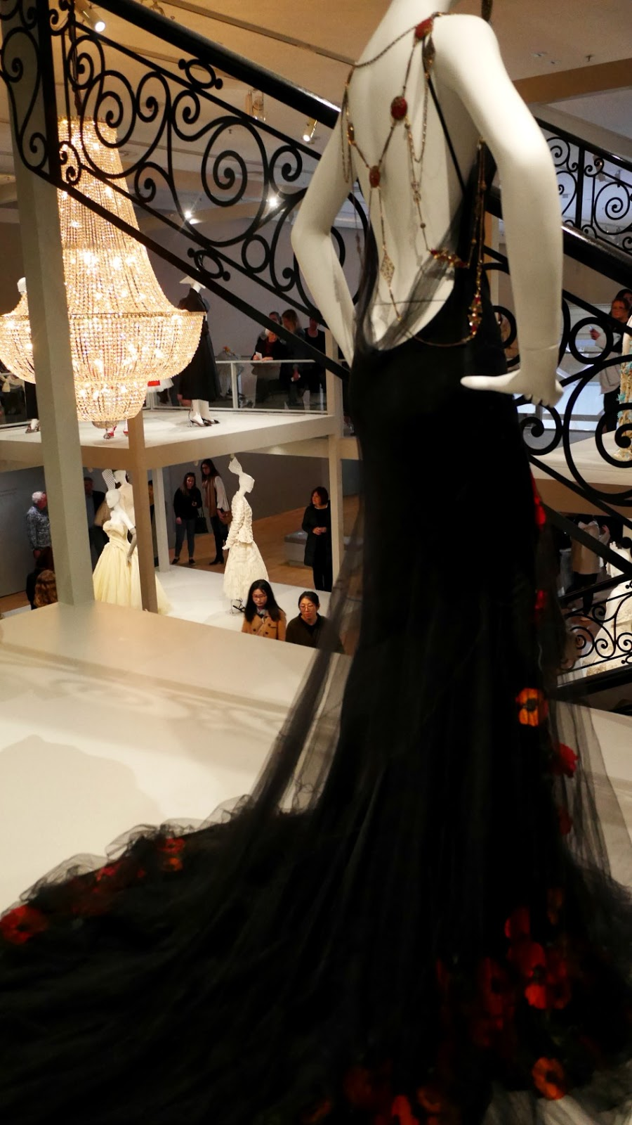 The House of Dior: Seventy Years of Haute Couture exhibition Melbourne National Gallery of Victoria