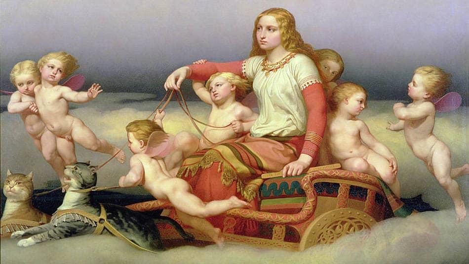 A,mitoloji, İskandinav mitolojisi, Freya, Freya ve Odr, Slavların tutkulu tanrıçası, Slav mitolojisi, Slav mitleri, İskandinav efsaneleri, Tanrıça Freya, Freya'nın altın takısı, Brisingamen kolyesi