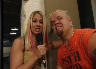 NWA: TNA - First Ever Event - Goldy Locks interviews Puppet the Psycho Dwarf