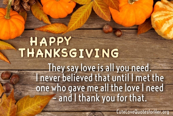 Happy Thanksgiving Quotes For Friends, Wishes Love Quotes, And Short Funny Quotation 2017