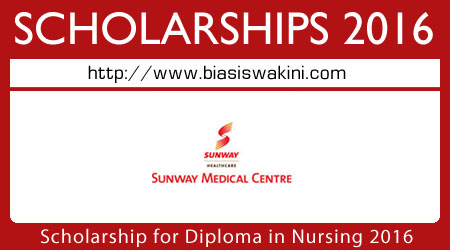 Sunway Medical Centre Full Scholarship 2016