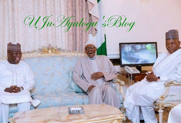 Just In : Pictures of President Buhari and Visiting Governors surfaces