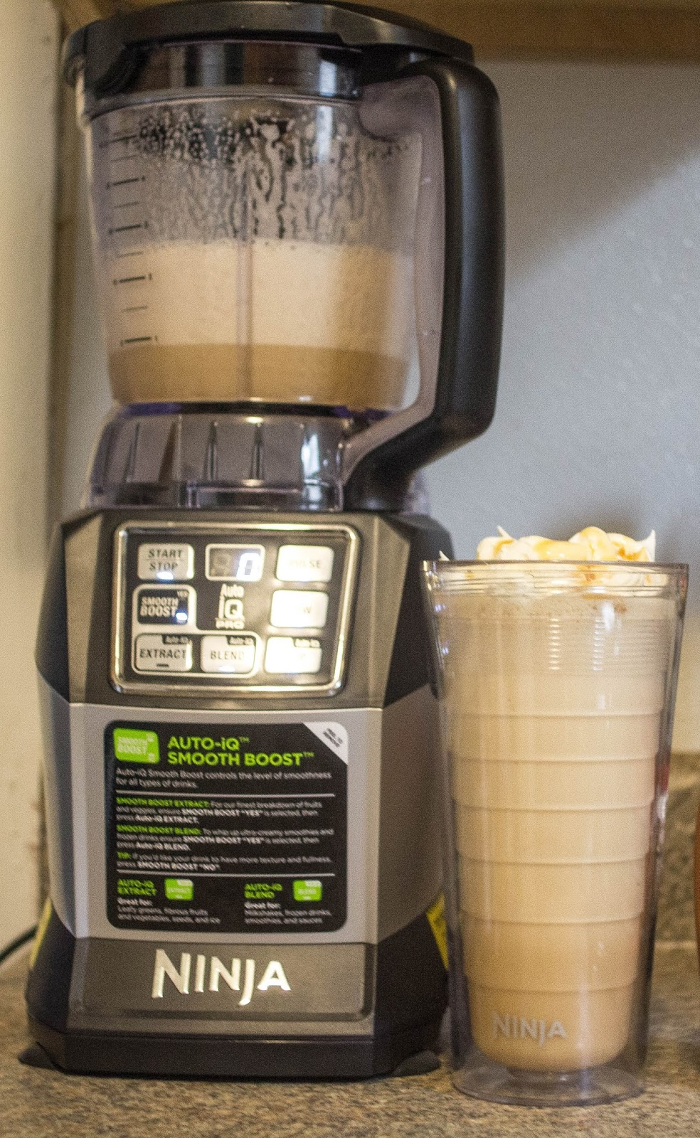 Make Your Caramel Frappe At Home With The Ninja Auto Iq Smooth