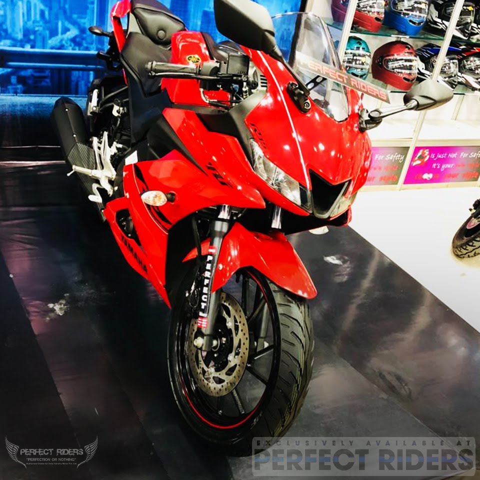 Perfect Riders Presents it's newly customized | Lusty Red R15 V3