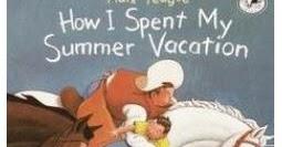 I spent my summer vacation essay