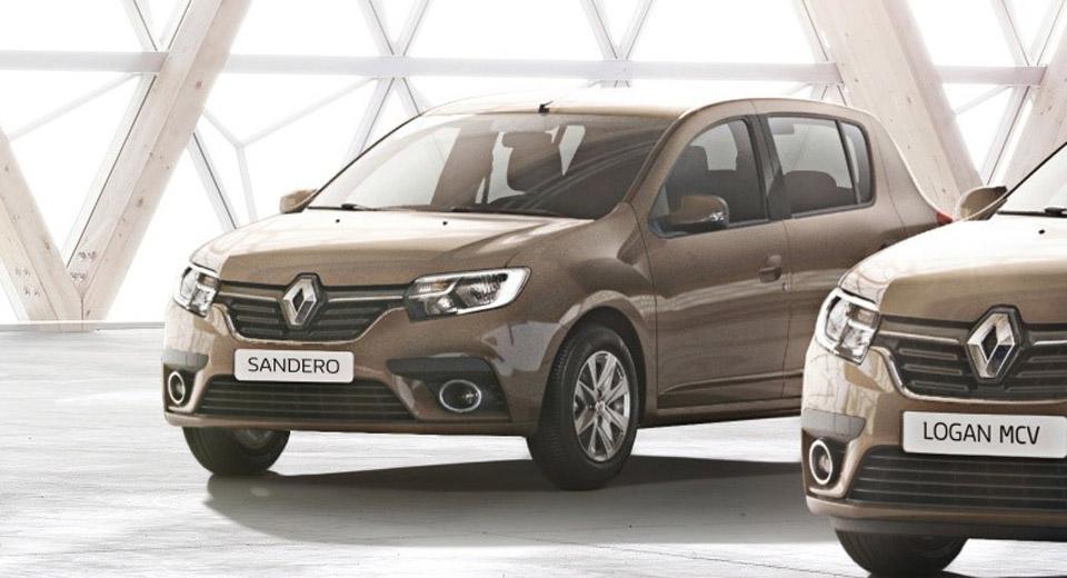 Dacia/Renault Logan y Sandero facelift (2017) 32