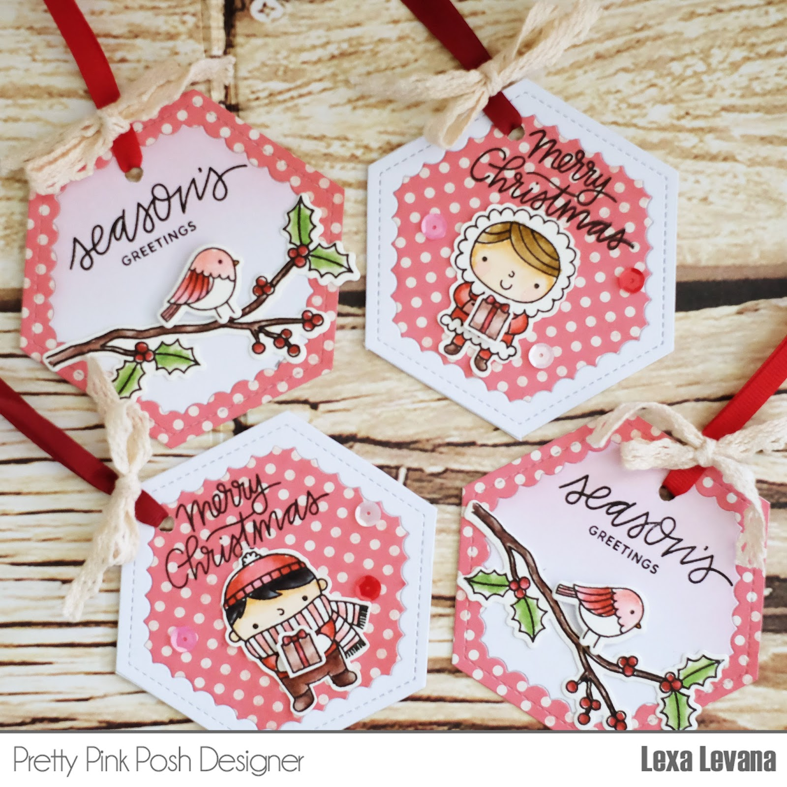 Lexa\'s Artsy Corner: Quick and Easy Christmas Tags