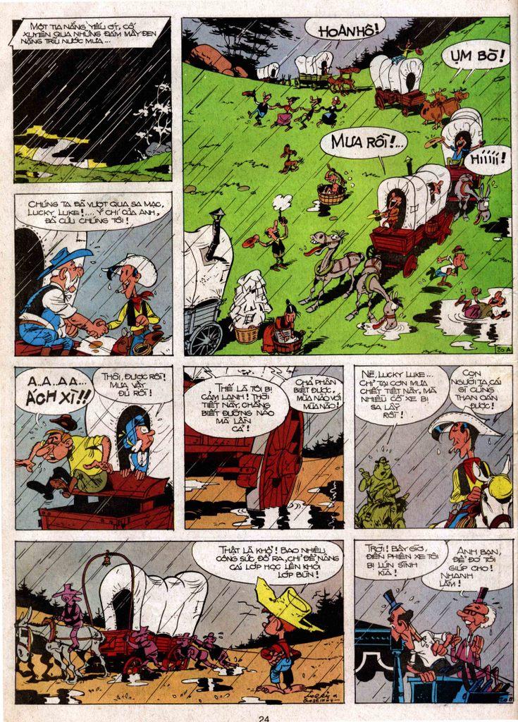 Lucky Luke tap 3 - doan lu hanh trang 19