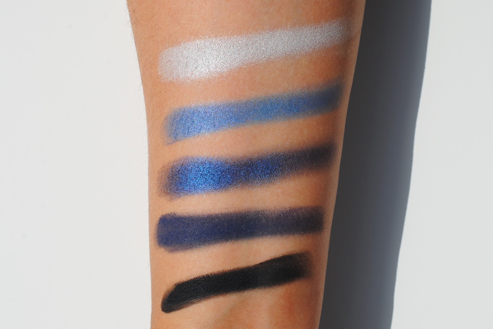 inglot eyeshadow swatches
