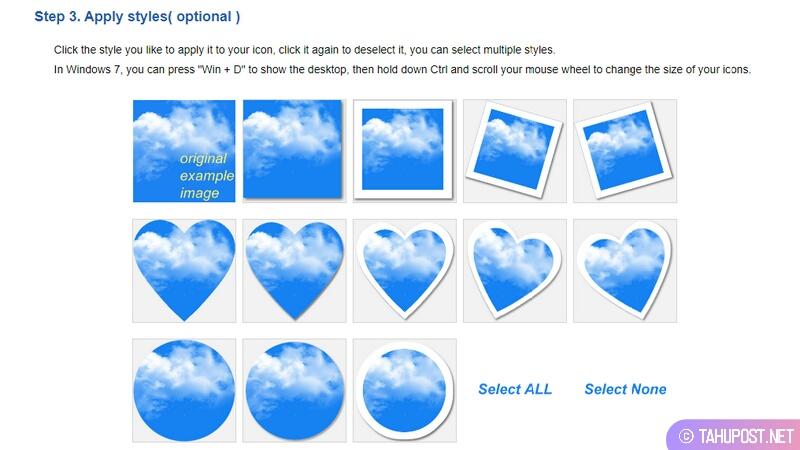 Pilih Model Icon Folder