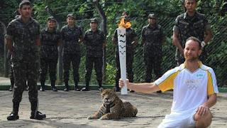 Antorcha Brasil Jaguar Juma