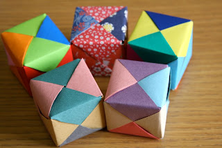 Origami Cube - Very Easy Paper Cube for Kids   Origami cube, Paper ...   214x320
