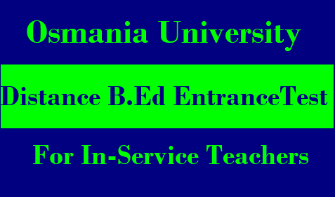 Osmania University Distance B.Ed Admissions Entrance Test 2019 Osmania University B.Ed Admission 2019 (Distance) | Osmania University B.Ed Admission 2019 | Osmania University BEd Distance Education Admission Fee 2019 | Details on B.Ed (Distance Education) course in Osmania University | Osmania University Distance DDE B.Ed Admissions Form 2019 Entrance Test | Counseling Results-OU-Osmania-university-details-on-bed-distance-education-admission-entrance-test-notification-2019/2019/01/OU-Osmania-university-details-on-bed-distance-education-admission-entrance-test-notification-2019.html