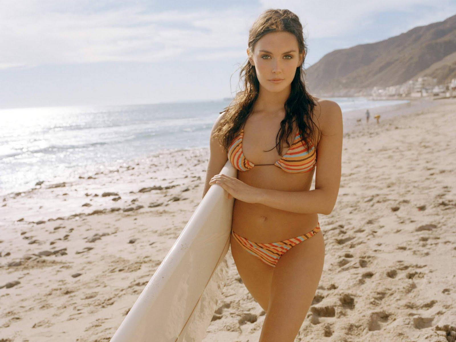 Wallpaper Surfer Girl From Summerland Life West Coast Leo Carrillo State Park Malibu California