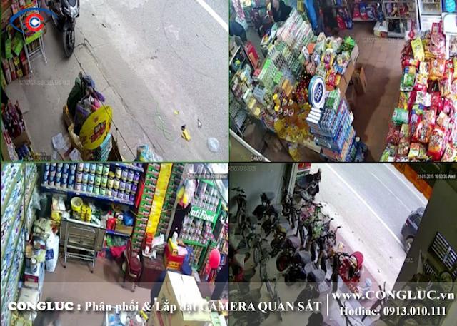 lắp camera quan sát cửa hàng tại Quận Lê Chân