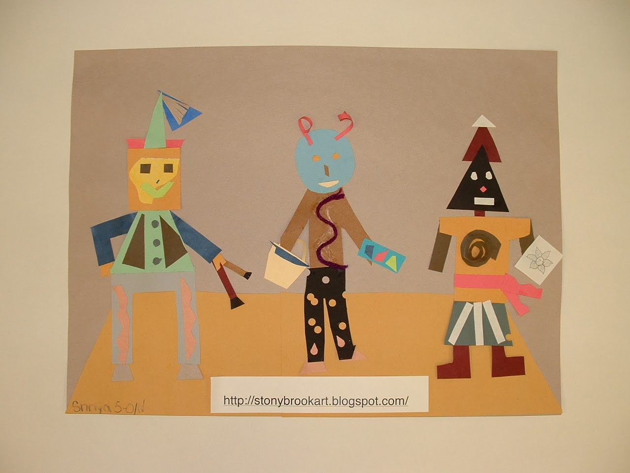 Mrs Belton S Artists Picasso S Three Musicians
