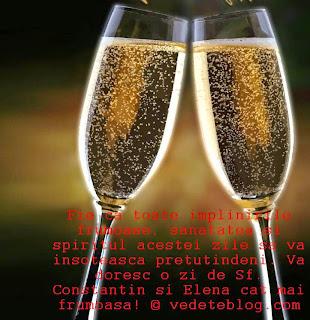 Mesaje de Sf Constantin si Elena Urari Onomastice de la multi ani