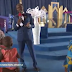 Stepahnie Otobo's Mother Goes On Her Knees To Beg Apostle Suleman For Forgiveness