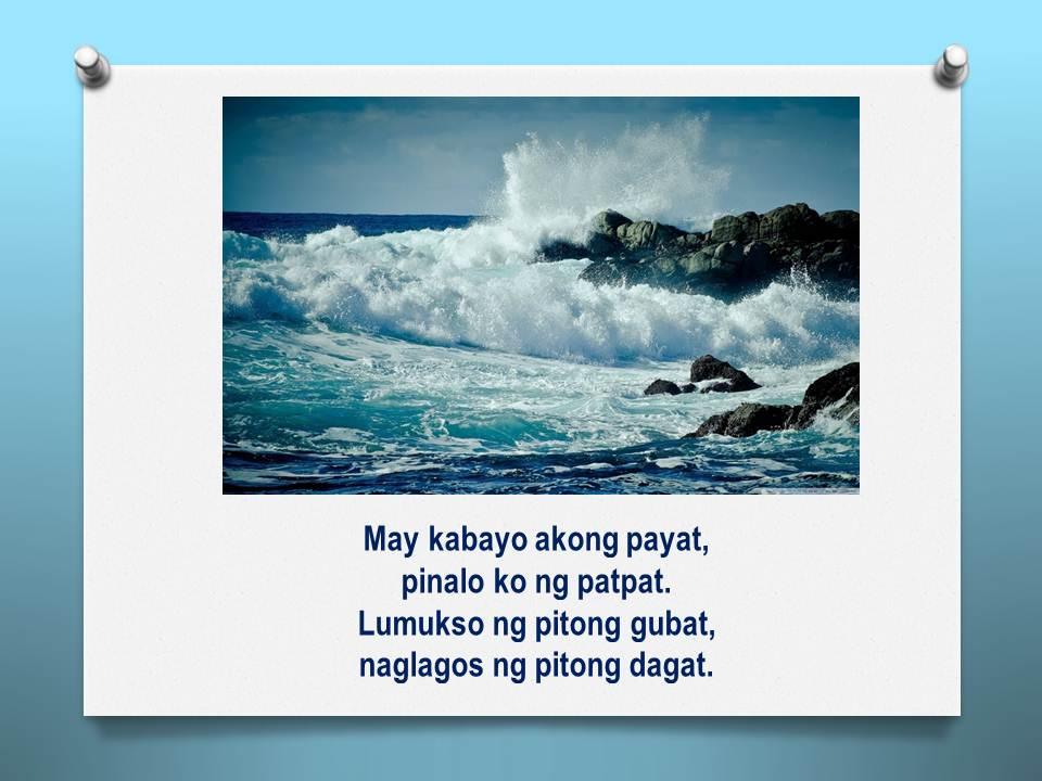 Bugtong Tungkol Sa Kalikasan My Philippines