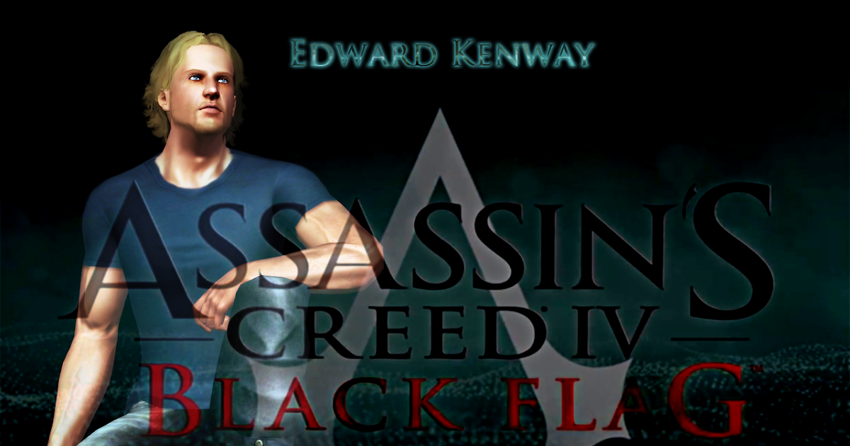My Sims 3 Blog: Edward Kenway From Assassin's Creed IV